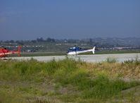 N110E @ CMA - 2005 Eurocopter AS 350B3 ECUREUIL (Squirrel)/ASTAR, Turbomeca Arriel 2B turboshaft 847 shp, digital engine control, optimized for high altitude operation - by Doug Robertson