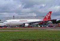 G-CEAA @ BOH - Airbus A300B2- 1C - by Les Rickman