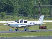 N121SR @ KPDK - Cab 5 arriving 2L - by Michael Martin