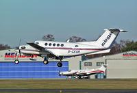 G-CEGR @ BOH - Beech 200 Super King Air - by Les Rickman