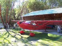 N239DK @ FBN - Kitfox at it's home in Oregon before being sold.  R.I.P. Dad - by Dave King