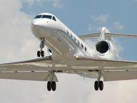 N117WR @ KLAS - Whiskey Romeo / Gulfstream Aerospace GIV-X (350)