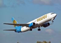 5B-DBI @ BOH - Boeing 737 86N - by Les Rickman