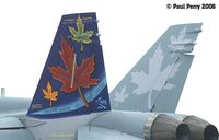 188711 @ LFI - The RCAF Hornet Demos always have good paintjobs - by Paul Perry