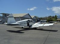 N1308B @ SZP - 1955 Piper PA-23-150 APACHE, two Lycoming O-320 150 Hp, note large baggage access door - by Doug Robertson