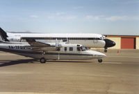 UNKNOWN @ KELP - Rockwell Commander taxing past DC9 - by Syed Rasheed