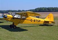 G-BTSP @ EGHP - Piper J-3C-65 Cub - by Les Rickman