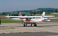 G-BRNE @ ESH - Cessna 152 11 - by Les Rickman