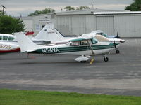 N54VA @ FDK - 1968 172K sitting on the FDK ramp the day of the AOPA Fly-in 2006 - by Sam Andrews