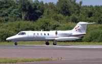 C-FICU @ BOH - Learjet 35A - by Les Rickman