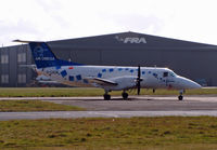 D-CAOB @ BOH - Embraer EMB-120 Brasilia - by Les Rickman