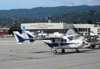 N11WS @ SQL - 1972 Cessna T337G @ San Carlos Municipal, CA - by Steve Nation
