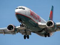 N332AW @ KLAS - America West Airlines / 1987 Boeing 737-3B7