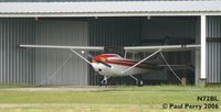 N72BL @ PMZ - Quiet day, rainy day.  At least she has a roof - by Paul Perry