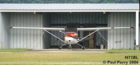 N72BL @ PMZ - Better view of the hangar depth. - by Paul Perry