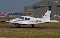 G-XSFT @ BOH - PA-23 Aztec 250F - by Les Rickman