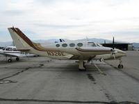 N326E @ CNO - 1966 Cessna 411 @ Chino Municipal Airport, CA