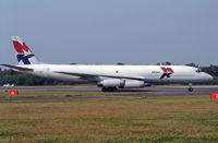 9G-MKK @ BOH - Douglas DC-8-62AF - by Les Rickman