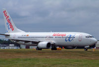 EC-HBN @ BOH - Boeing 737 85P - by Les Rickman