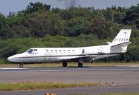 G-CZAR @ BOH - Cessna 560 Citation V - by Les Rickman