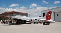 N5017N @ KAPA - B-17 Aluminum Overcast - Centennial Airport - by John Little