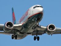 N309AW @ KLAS - America West Airlines / 1990 Boeing 737-3G7