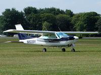 N8225Y @ EGWC - Cessna 177RG Cardinal - by Robert Beaver