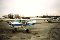 N11124 @ KPOU - N11124 at KPOU circa late 1991 - by John Piddock
