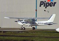 G-BOGG @ BOH - Cessna 152 11 - by Les Rickman