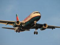 N837AW @ KLAS - America West Airlines / 2005 Airbus A319-132