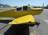 N9293 @ SZP - 1974 Ries Jodel F-12, Franklin 4B1 130 Hp, characteristic Jodel wing with outer panel dihedral, angled aileron - by Doug Robertson