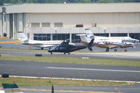 N109AG @ PDK - Taxing to Charlie Pad, preparing to take off. - by Michael Martin