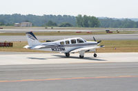 N329M @ PDK - Taxing to Runway 20L - by Michael Martin