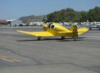 N9293 @ SZP - 1974 Ries Jodel F-12, Franklin 4B1 130 Hp, taxi to transient parking - by Doug Robertson