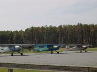 C-FJYC @ KFFA - Cessna 140 - by Mark Pasqualino
