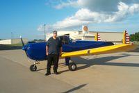 N2273H @ M91 - 1946 ERCO 415-D (Ercoupe) and owner Jason J Ellingson - by Lisa M Ellingson