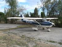 N747KY @ AJO - 1970 Cessna 150K @ Corona Municipal Airport, CA - by Steve Nation