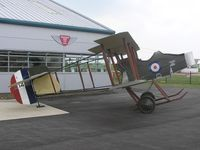 A1452 @ EGBK - Vickers Gunbus Replica (non-flying) at Sywell - by Simon Palmer