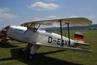 D-EAVV @ LSZG - Oldtimer fly in Grenchen 2005 - by eap_spotter