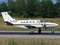 D-ICHS @ BSL - Landing on runway 16 - by eap_spotter