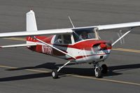 N1119Y @ SMO - 1962 Cessna 150B taxiing to RWY 21 at Santa Monica Municipal Airport (KSMO) - Santa Monica, California. - by Dean Heald