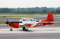 161033 @ KPDK - TAW-4 Taxing to Runway 20R - by Michael Martin