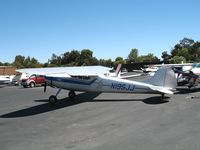N195JJ @ PAO - 1951 Cessna 195 on a sunny Saturday afternoon @ Palo Alto Municipal Airport, CA