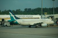 9V-SLG @ SIN - Silk Air at the gate in Singapore - by Micha Lueck