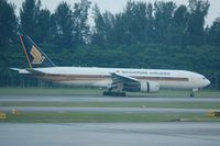 9V-SRQ @ SIN - Just touched down at Changi - thrust reversers deployed - by Micha Lueck