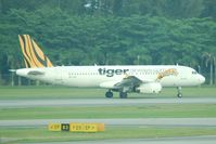 9V-TAC @ SIN - Singapore's budget carrier Tiger Airways - by Micha Lueck