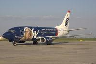 OM-SEG @ BTS - Sky Europe Boeing 737-500 in special colors