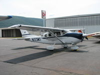 N123WT @ IPT - GA ramp in Williamsport - by Sam Andrews