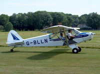 G-BLLN @ Old Warden - Piper PA-18 Super Cub 95 - by Robert Beaver