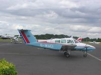 G-WACI @ EGTB - Beech 76 Duchess at Booker - by Simon Palmer